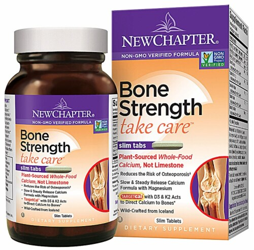 New Chapter Bone Strength Take Care®™ Perspective: front