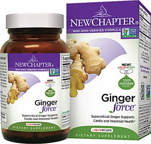 New Chapter  Ginger Force™ Perspective: front