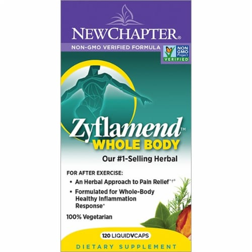 New Chapter Zyflamend Whole Body Dietary Supplement Perspective: front