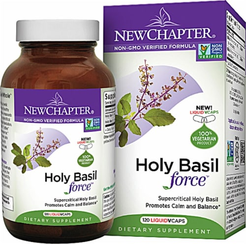 New Chapter  Holy Basil Force™ Perspective: front