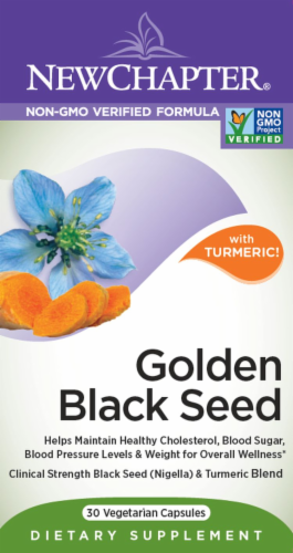 New Chapter Golden Black Seed Perspective: front