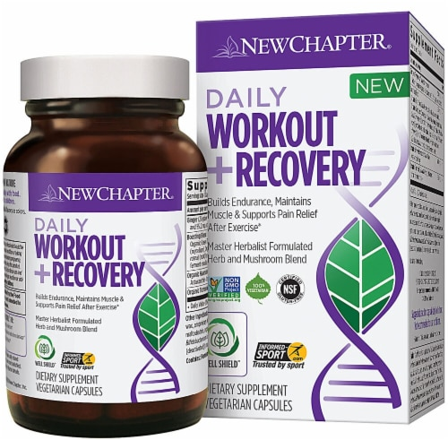 New Chapter  Daily Workout plus Recovery Perspective: front