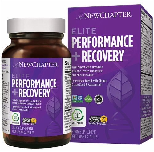 New Chapter  Elite Performance plus Recovery™ Perspective: front