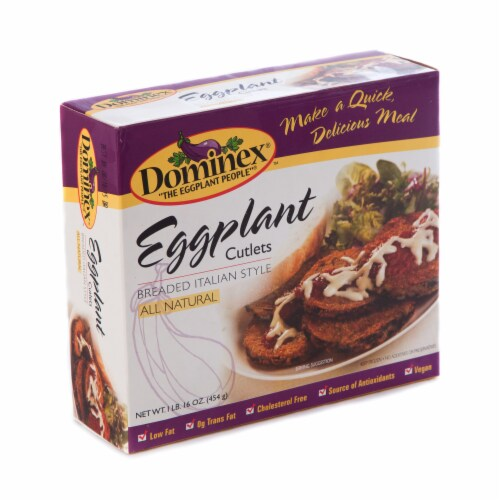 Dominex Eggplant Cutlets Perspective: front