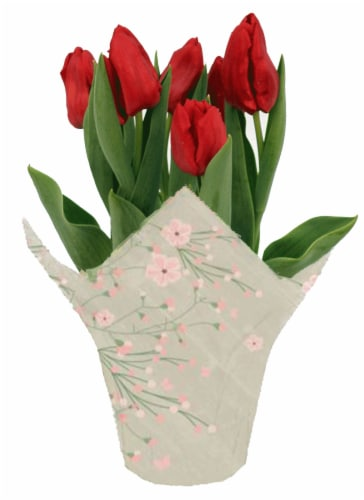 Andy Mast Greenhouses Red Tulips (Approximate Delivery is 2-7 Days) Perspective: front