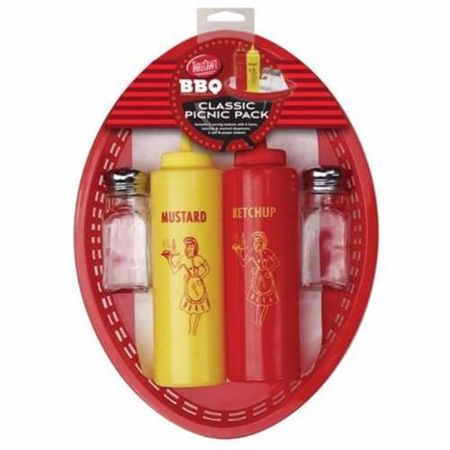 TableCraft TCT10520 BBQ Classic Picnic Pack Set Perspective: front