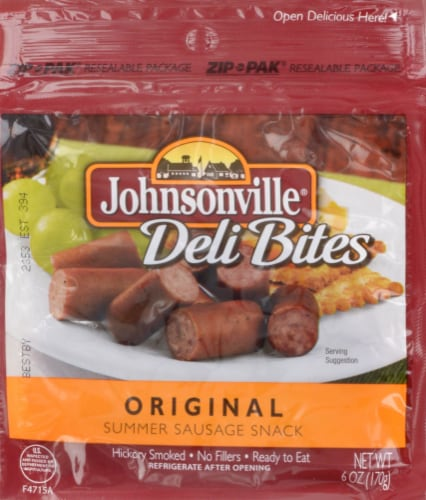 Johnsonville Original Deli Bites Perspective: front