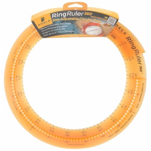 Koala Tools Ring Ruler 360 Degree Circular Ruler-Inches Perspective: front