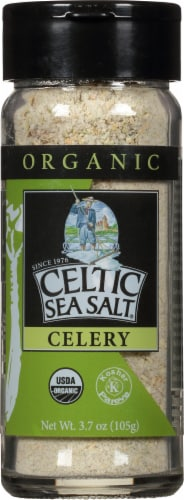 Selina Naturally  Organic Celtic Sea Salt   Celery Perspective: front