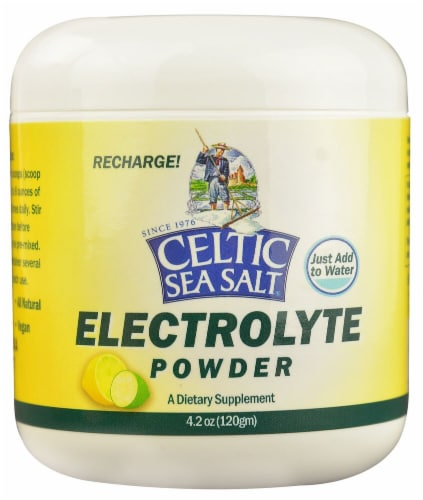Selina Naturally  Celtic Sea Salt Electrolyte Powder Perspective: front