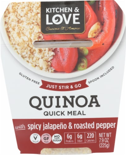 Kitchen & Love Cucina Et Amore Jalapeno & Peppers Quinoa Meal Perspective: front