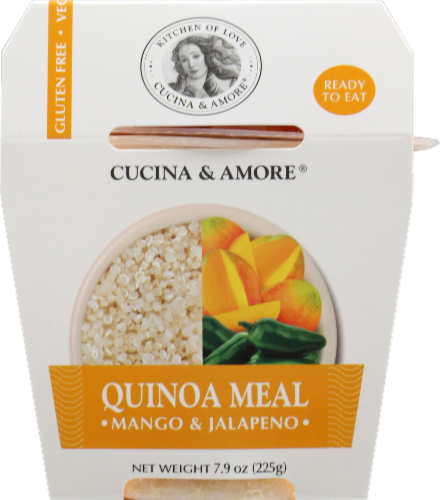 Cucina & Amore Mango & Jalapeno Quinoa Meal Perspective: front