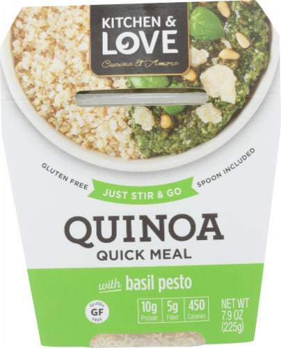 Kitchen & Love Basil Pesto Quinoa Meal Perspective: front