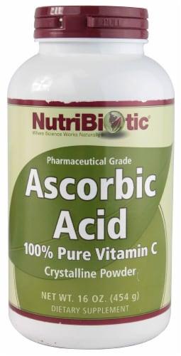 NutriBiotic  Ascorbic Acid 100% Pure Vitamin C Powder Perspective: front