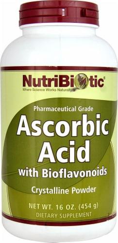 NutriBiotic  Ascorbic Acid Bioflavonoids Perspective: front