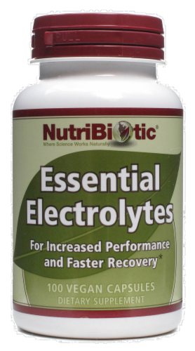 NutriBiotic Essential Electrolytes Perspective: front