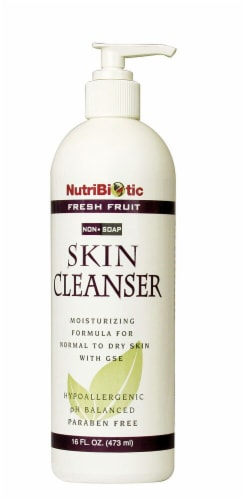 NutriBiotic Fresh Fruit Non-Soap Skin Cleanser Perspective: front