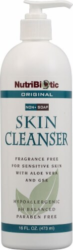 NutriBiotic Skin Cleanser Fragrance Free Perspective: front