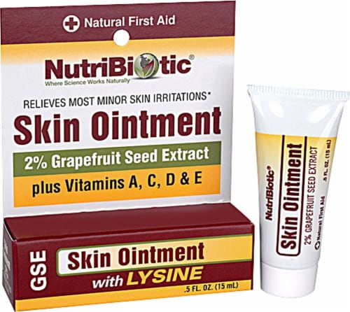NutriBiotic  Skin Ointment Perspective: front