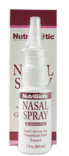 NutriBiotic Nasal Spray Perspective: front
