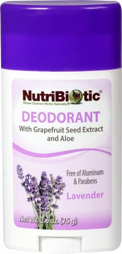 NutriBiotic  Deodorant Stick Lavender Perspective: front