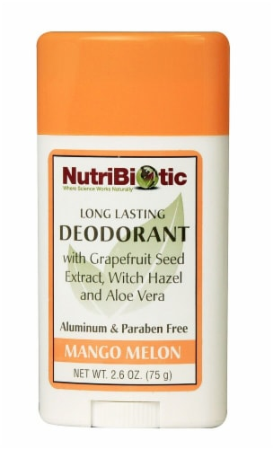 NutriBiotic  Deodorant Stick Mango Melon Perspective: front