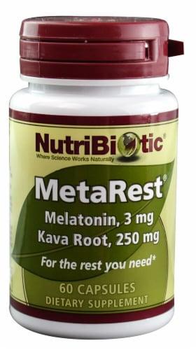 NutriBiotic  MetaRest® Perspective: front