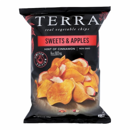 Terra Sweets & Apples Real Vegetable Chips Perspective: front