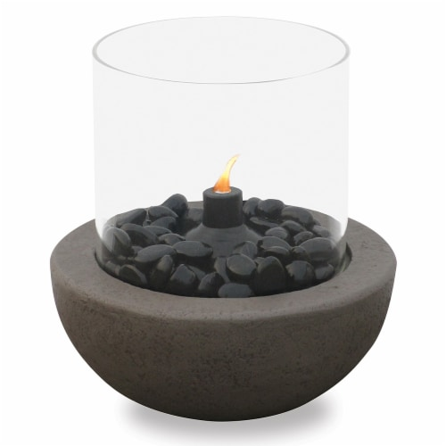 Mr. Bar-B-Q Fire Island Tabletop Citronella Fire Bowl Perspective: front