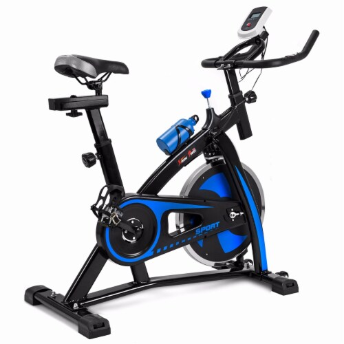 Bicycle Cycling Fitness Bike Gym Exercise Stationary Cardio Workout Perspective: front