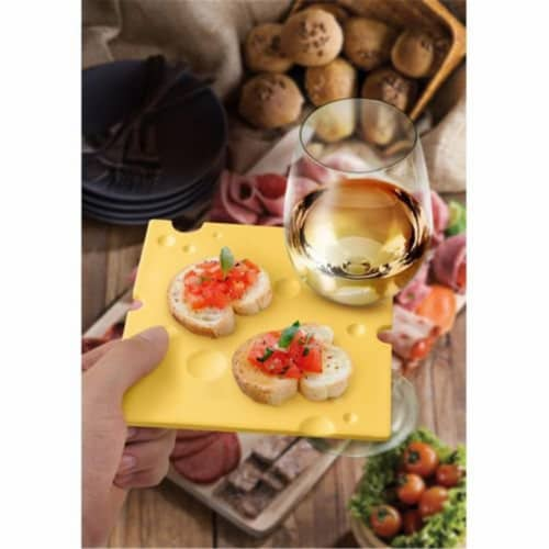 Fred & Friends FREDSWISS Swiss Dish Party Plates Perspective: front