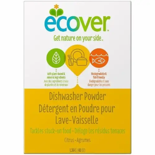 Ecover Natural Dishwasher Powder Perspective: front