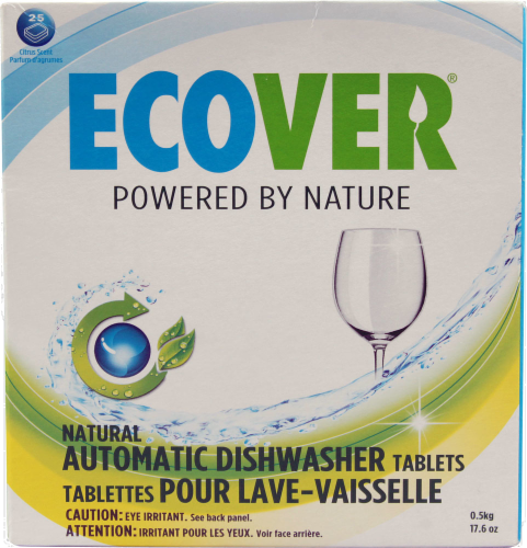 Ecover Ecological Dishwasher Tablets Perspective: front