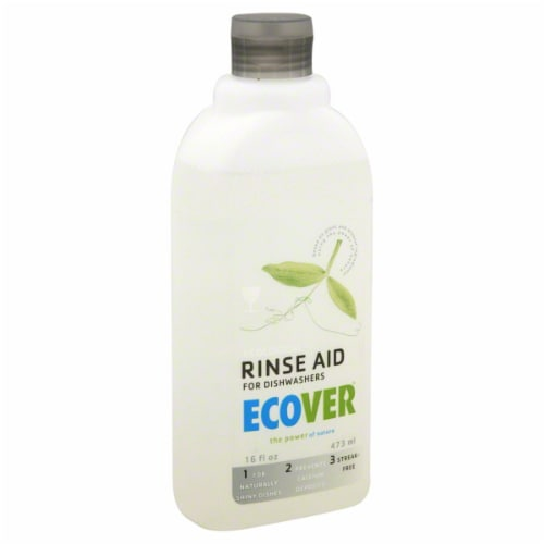 Ecover Dishwasher Rinse Aid Perspective: front