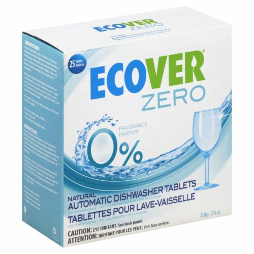 Ecover Zero Automatic Dishwasher Tablets Perspective: front