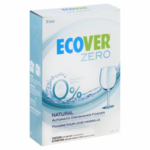 Ecover Zero Dishwasher Powder Perspective: front