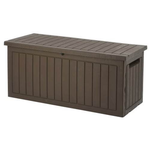 Bergen Collection All Weather Storage Box Perspective: front