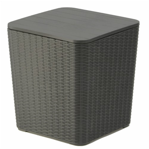 Arendal Collection All-Weather Storage Box Perspective: front