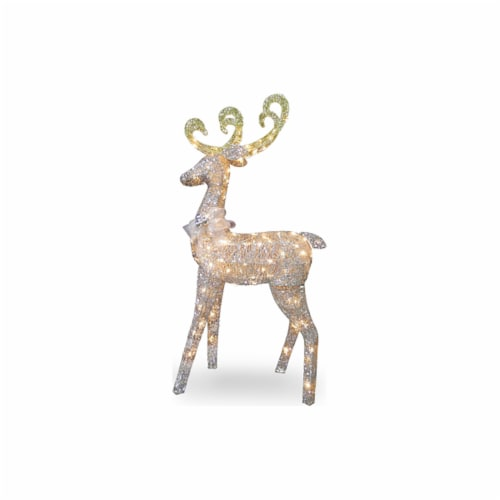 Good Tidings LED Standing Reindeer Perspective: front