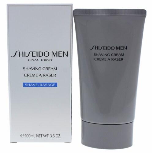 Shiseido Men Shaving Cream 3.6 oz Perspective: front