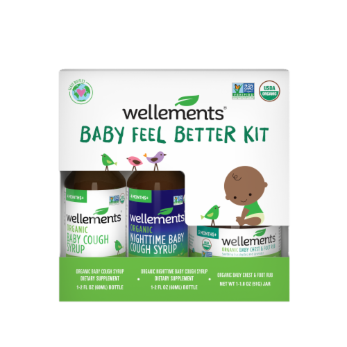 Wellements Baby Feel Better Kit Perspective: front