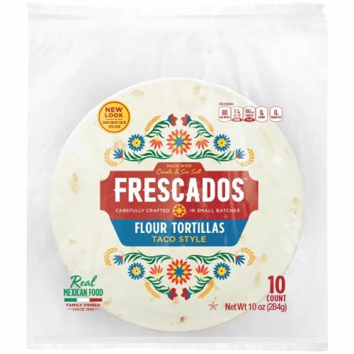 Frescados Taco Style Flour Tortillas Perspective: front