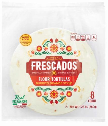 Frescados Burrito Grande Style Flour Tortillas Perspective: front