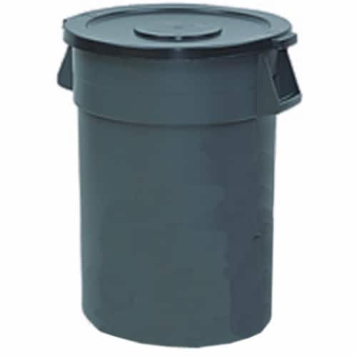 Impact Products GC100103 10 gal Plastic Container, Gray Perspective: front