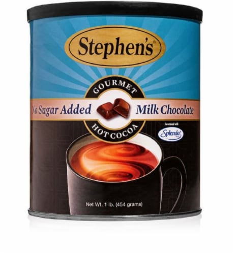 Stephen's Gourmet Milk Chocolate Hot Cocoa Mix Perspective: front