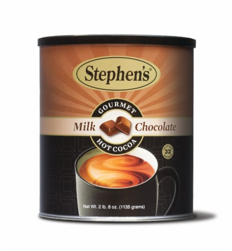 Stephen's Milk Chocolate Gourmet Hot Cocoa Mix Perspective: front