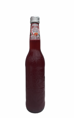 Galvanina Organic Blood Orange Fruit Beverage with Pulp Perspective: front