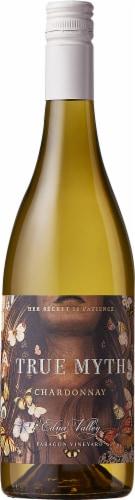 True Myth Edna Valley Chardonnay White Wine Perspective: front