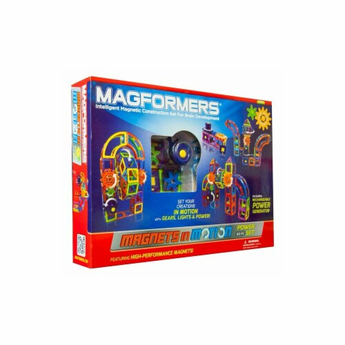 MAGFORMERS® Magnets in Motion Power Set Perspective: front