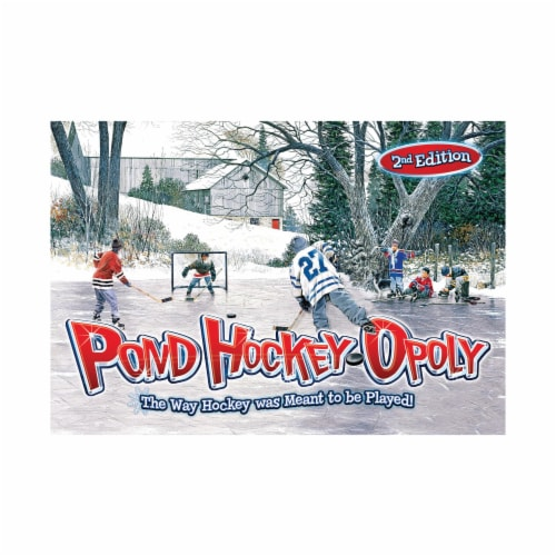 Outset Media® 2nd Edition Pond Hockeyopoly Perspective: front